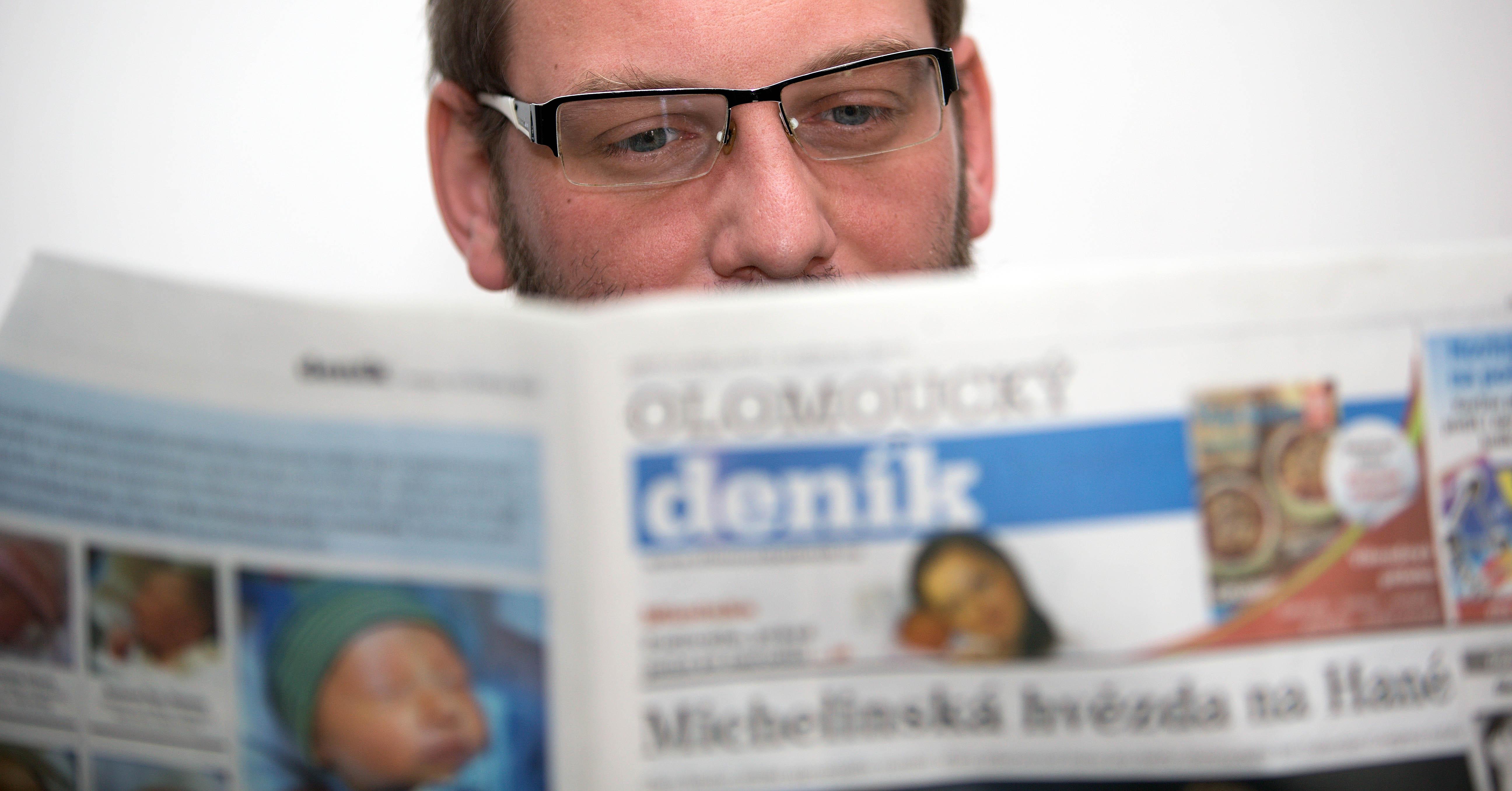 """""""Z práce chodím domů jako poslední,"""" říkal ještě jako editor Olomouckého deníku Martin Dostál"""