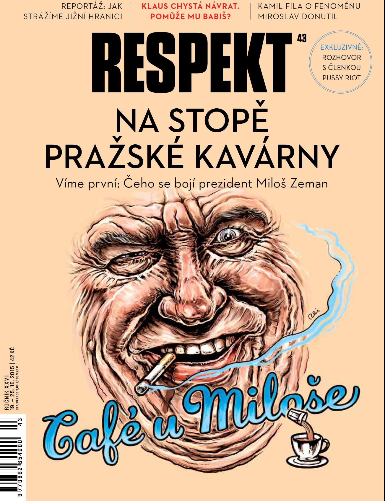 Čtení nového Respektu: Snadnější orientace, líbivý vzhled