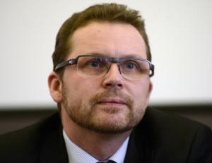 Předseda Rady Českého rozhlasu Michal Stehlík (na archivním snímku z 18. října 2013). ČTK Vondrouš Roman