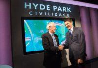 Moderátor pořadu Hyde Park Civilizace je nejmladším laureátem Medaile Vojtěcha Náprstka