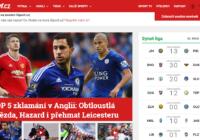 Internetový portál deníku Sport má nový design