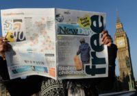 V Británii vyšel po dlouhých 30 letech nový celostátní deník s názvem The New Day, naopak tradiční list The Independent se svou tištěnou verzí končí