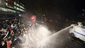 turecko demonstrace