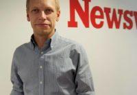 """""""Chceme se dívat na svět jako na místo, které funguje,"""" říká šéfredaktor Newsweeku Jiří Nádoba"""