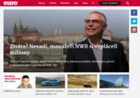 Týdeník Euro z vydavatelství Mladá fronta má nově svůj vlastní web, odčlenil se od E15