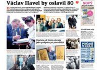 Osmdesátiny Václava Havla: na rozdíl od roku 1989 s velkou mediální pompou