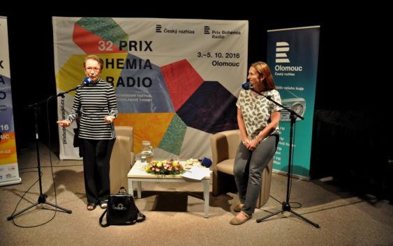 Hana Maciuchová na loňském ročníku Prix Bohemia Radio. Foto: Lucie Kačerová
