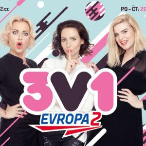Evropa 2 vítá do svých řad populární 3v1
