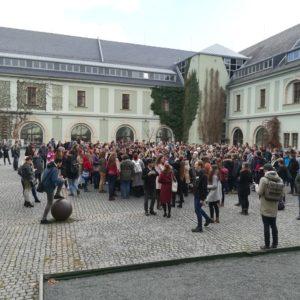 I olomoučtí studenti vyšli ven
