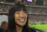 V Saúdské Arábii o fotbalovém zápase poprvé reportovala cizinka