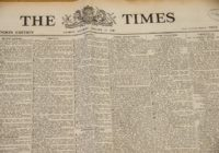 1. leden 1785 – vznik The Times