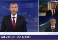 Dvacet let členství ČR v NATO připomněly jen dvě hlavní zpravodajské relace