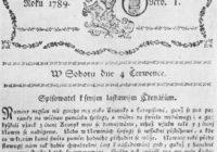 8. března 1794 – vydání prvního seznamovacího inzerátu v češtině