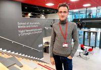 """""""Britové milují bulvár stejně jako Češi,"""" říká student žurnalistiky Michal Jindra"""