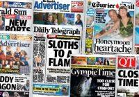 Kvůli současné krizi pozastavilo několik australských novin svoji činnost