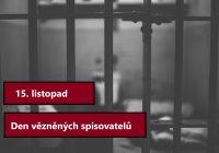 15. listopad – Den vězněných spisovatelů