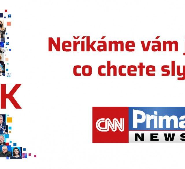 CNN Prima NEWS slaví narozeniny a chystá novinky